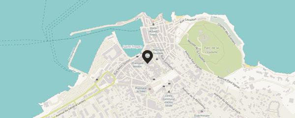 Maison Magdeleine centre-ville Saint-Tropez