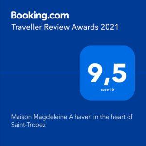 Booking.com review awards 2021